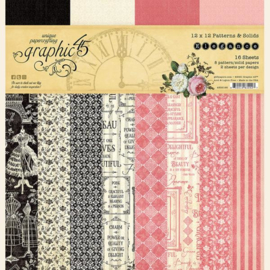 Graphic 45 - Elegance 30x30 patterns