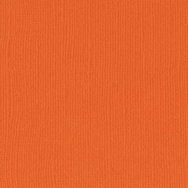 Cardstock - oranje, mandarijn