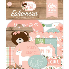 Echo Park - Baby girl - die-cuts