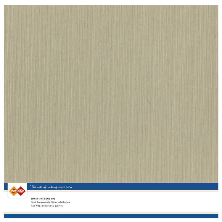 Cardstock - bruin, taupe