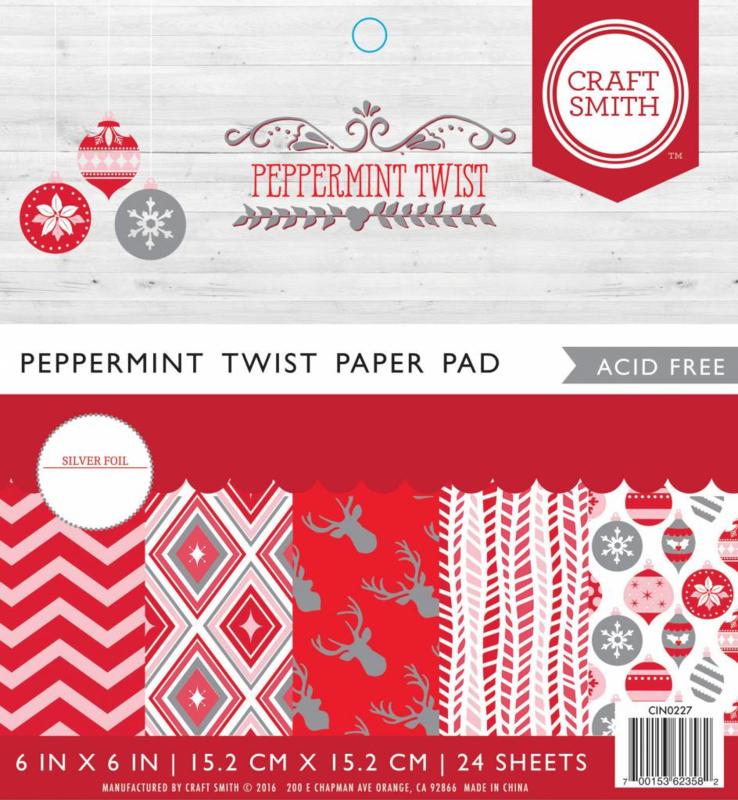 Craft Smith - Peppermint Twist 15x15