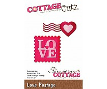 Scrapping cottage - Love postage