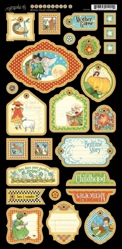 Graphic 45 - Mother Goose die-cuts 2
