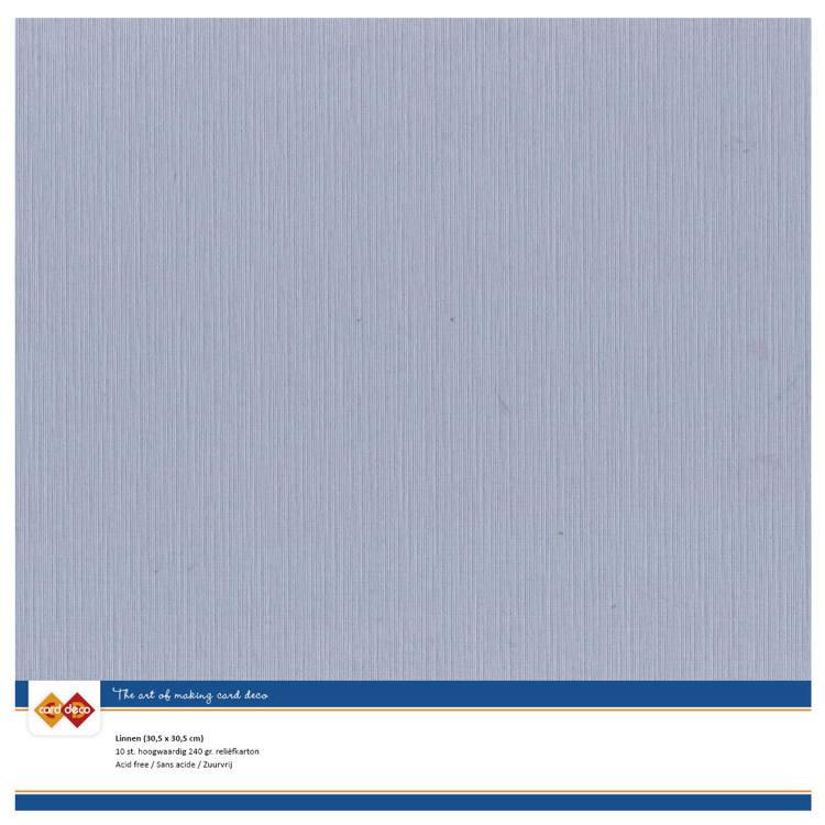 Cardstock - blauw, oud