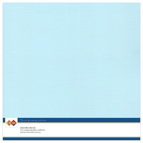 Cardstock - blauw, baby