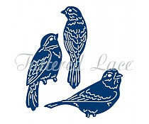 Tattered lace - Trio of birds