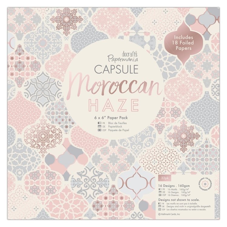 Papermania - Moroccan haze