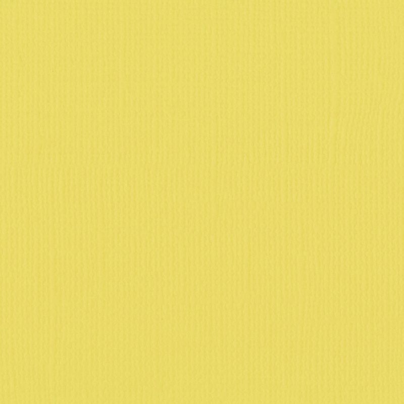 Cardstock - geel, krokus