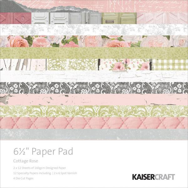Kaisercraft - Cottage rose
