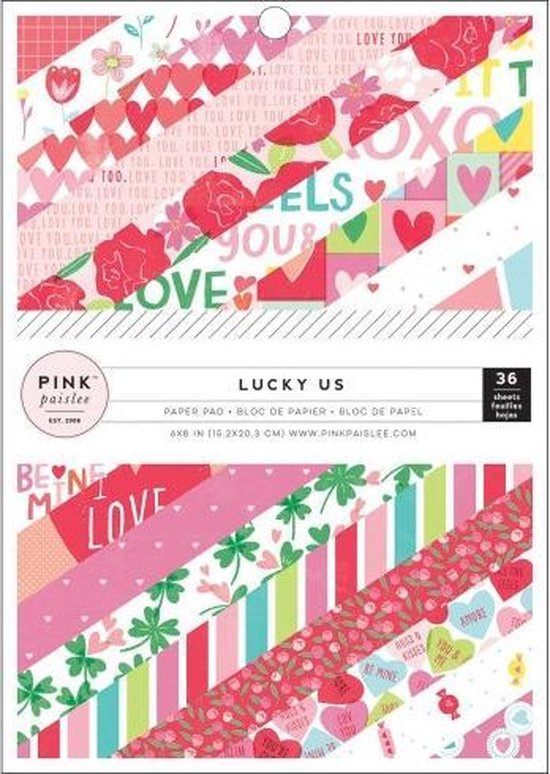 Pink Paislee - Lucky us