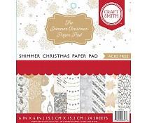 Craft Smith - Shimmer christmas 15x15