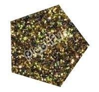 Flexfolie Glitter Goud/Zwart 5 m x 7 cm