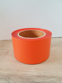 Flexfolie oranje 180 25 m x 7 cm