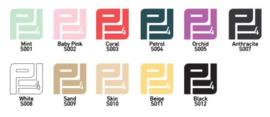 Pakket Flexfolie extra kleuren 30 cm x 50 cm ( 9 kleuren )