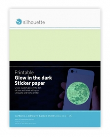 Printbare sticker Glow-in-the-Dark