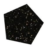 Flexfolie Glitter Black 928  5 m x 7 cm