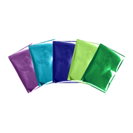 Foil Quill  Sheets Peacock