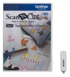 Brother USB 2 Applicatiepatronencollectie