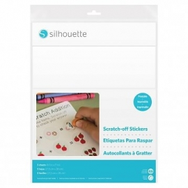 Scratch off stickersheets-Printable