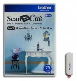 Brother USB 3 Home-Deco patronencollectie