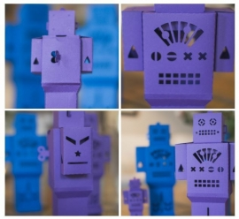 Brother USB 4 3D Paper Craft Patronencollectie