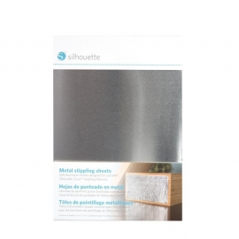 Curio  5 in. x 7 in. Metal Stippling Sheets