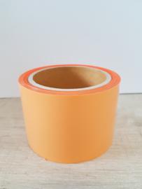 Flockfolie Oranje 180  5 m x 6,5 cm