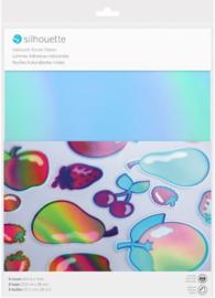 Printbare Sticker - Iridecent (regenboog)