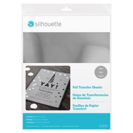 Curio Foil Transfer Sheets - Silver