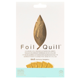 Foil Quill  Sheets Gold