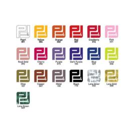 Pakket Flexfolie Electric A4 ( 18 kleuren )