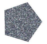 Flexfolie Glitter Zilver/Zwart ( metaal look)  5 m x 7 cm