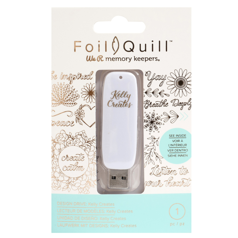 Foil Quill USB Kelly Creates