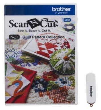 Brother USB 1 Quiltpatronencollectie