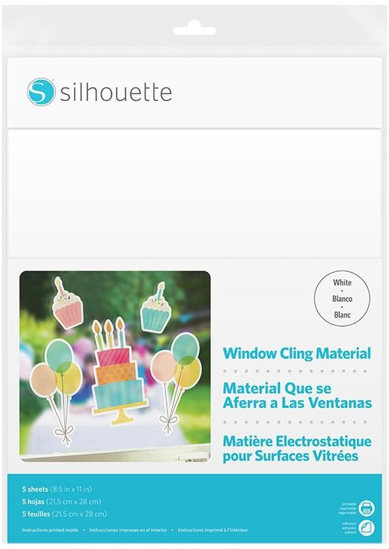 Printbaar Window Cling - White