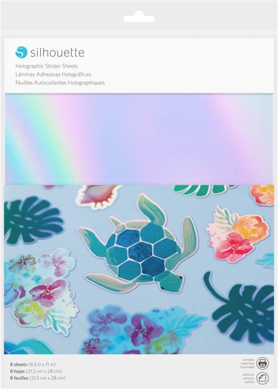 Printbare Sticker - Holografisch