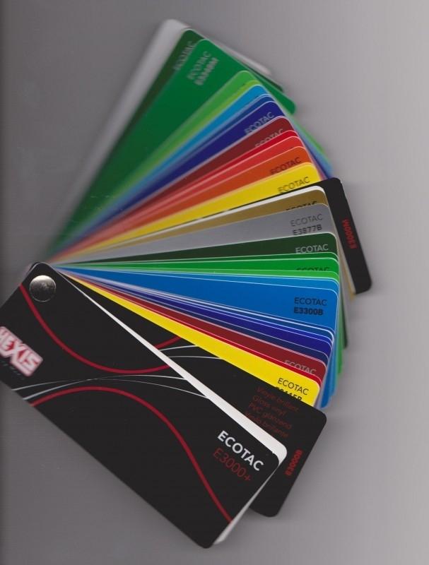Kleurenwaaier Ecotac