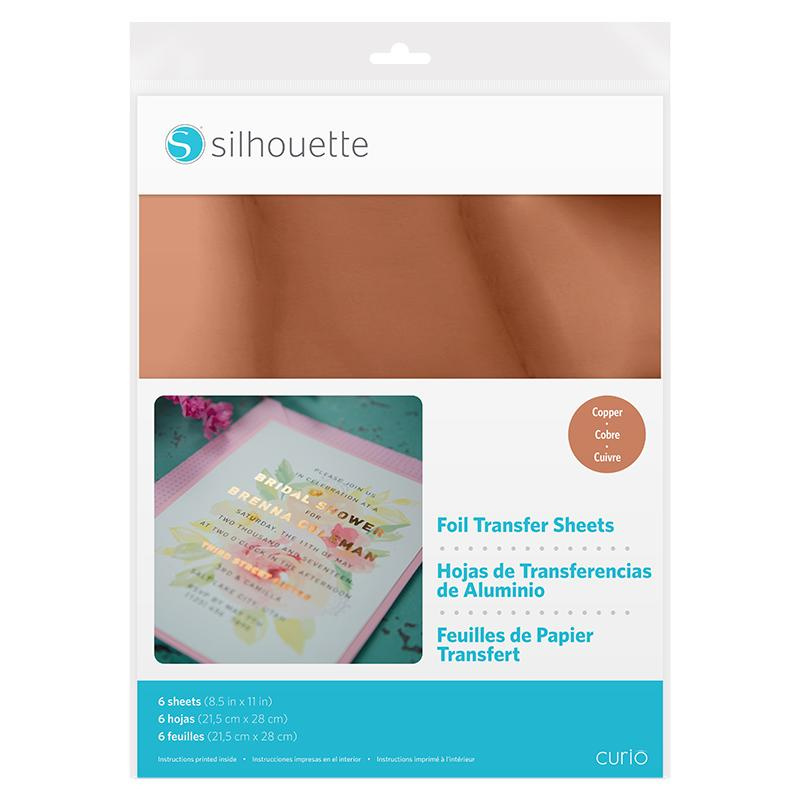 Curio  Foil Transfer Sheets - Copper