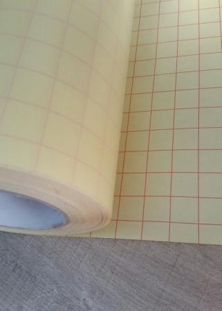 Applicatie-tape transparant op backing 30 x 50