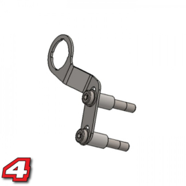 USB aansluiting  houder