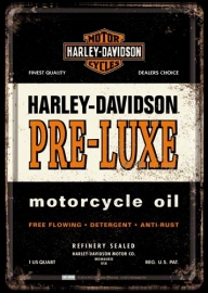 Tin Signs Harley Davidson PRE-LUXE
