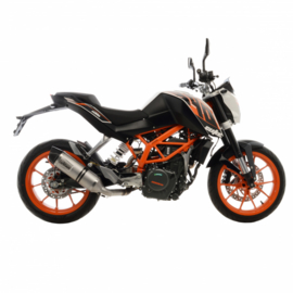 KTM Duke 390 (16-16) Leovince One EVO RVS