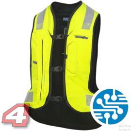 Helite E-Turtle airbag vest Hi Vis