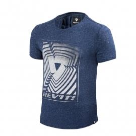 Revit Whitefield t-shirt blauw