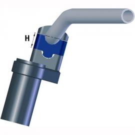 LSL motor stuurverhoger 25mm  - voor 22mm stuur