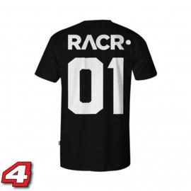 Racr 01 tshirt zwart