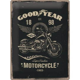 Emaille bord retro Goodyear Tires