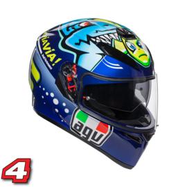 AGV K3 Rossi Misano 2015