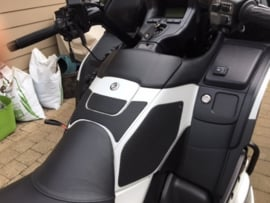 Techspec Snake Skin tankgrip Honda GL1800 Goldwing (airbag) (2012<)