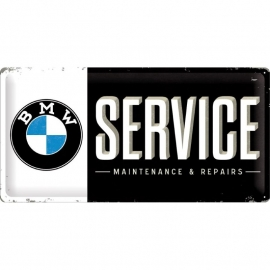 Tin Signs BMW service and repair (25x50)